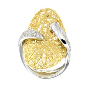 ANELLO IN ORO E BRILLANTI €1537